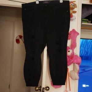 Torrid premium sky high skinny jeans